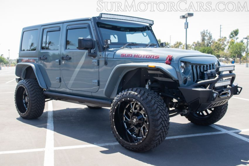 2015 Jeep Wrangler Unlimited RHD